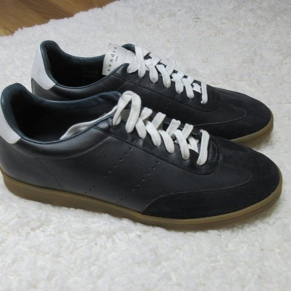 SANDRO SX-01 Low-top leather Sneakers 8