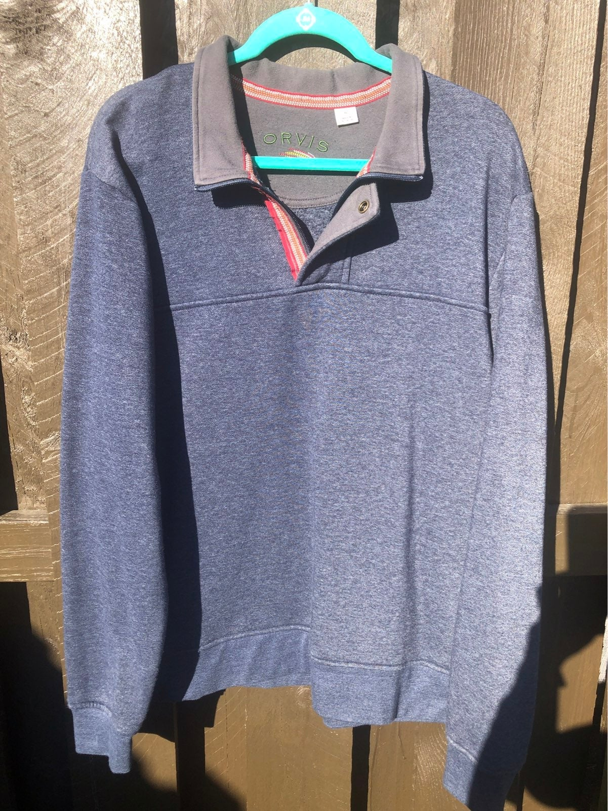 Orvis mens pullover XL