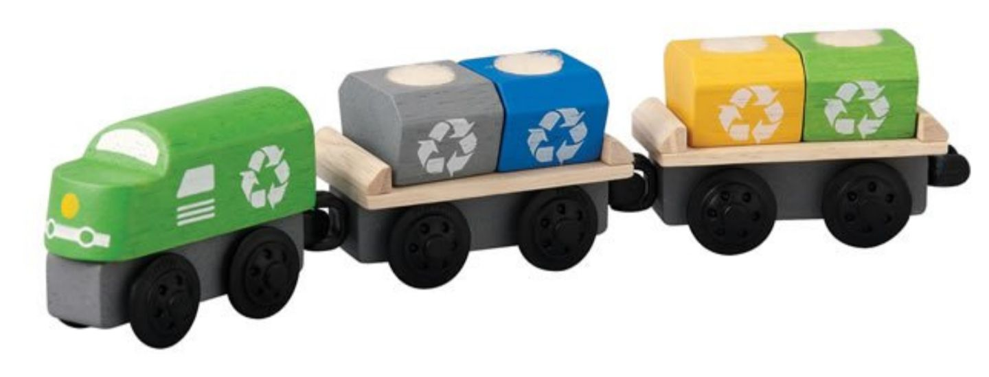Plan toys recycling train New