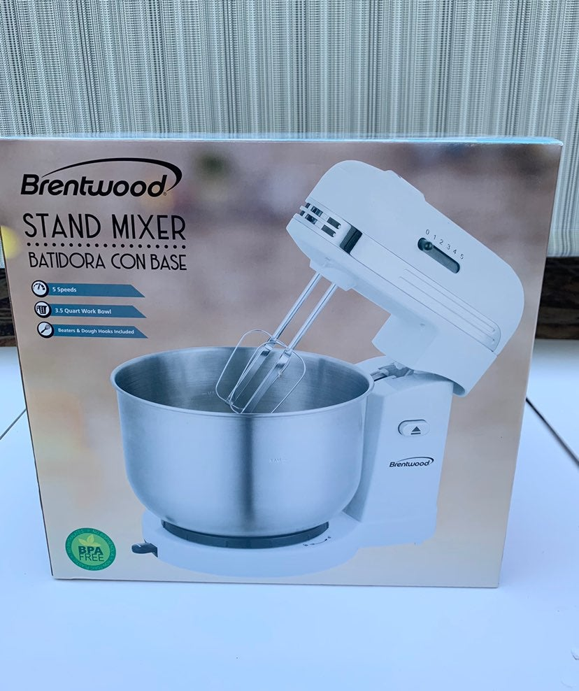 Brentwood SM-1162BL 5-Speed Stand Mixer