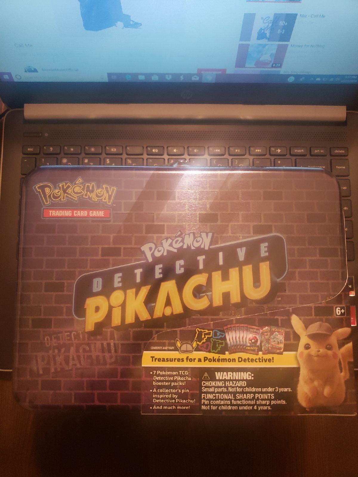 Detective Pikachu Collector Tin