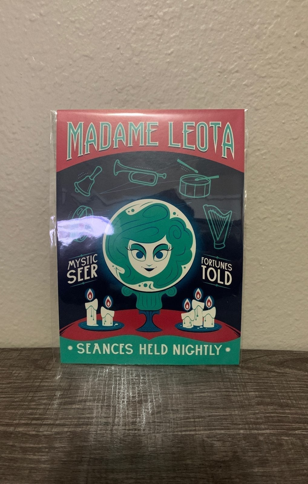 Disney Madame Leota Postcard