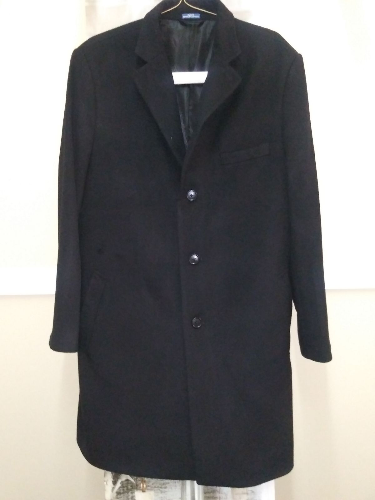 Wool Coat By Stafford Sz. 44Short
