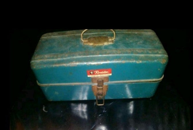 Vintage remington tackle box