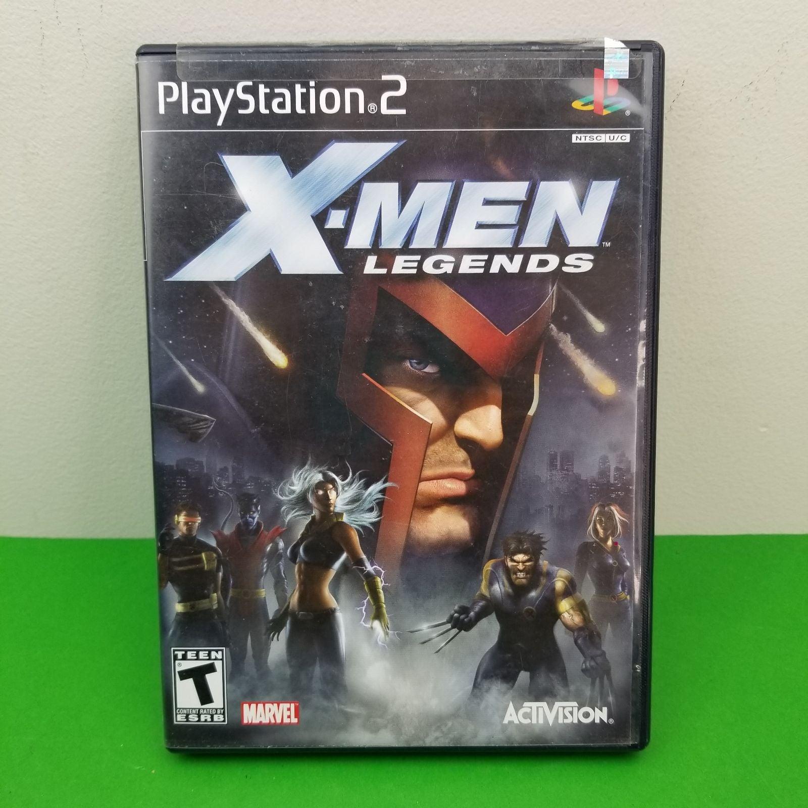 X-Men Legends - PlayStation 2 - No Manua
