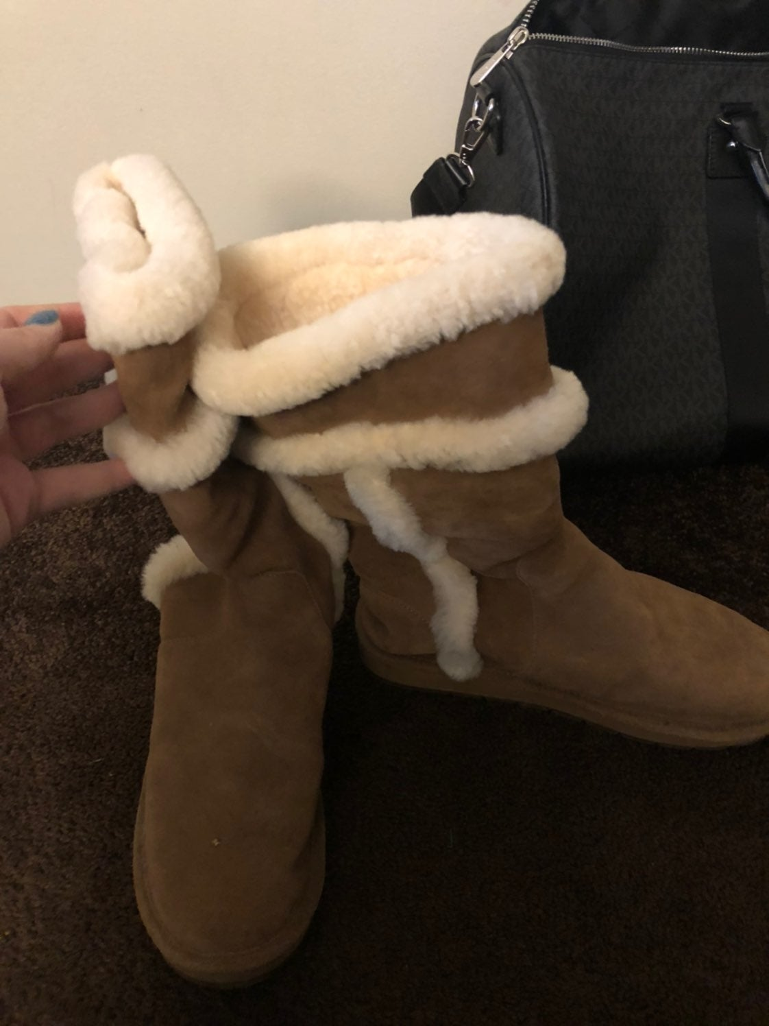 Michael Kors Brown Boots Size 10