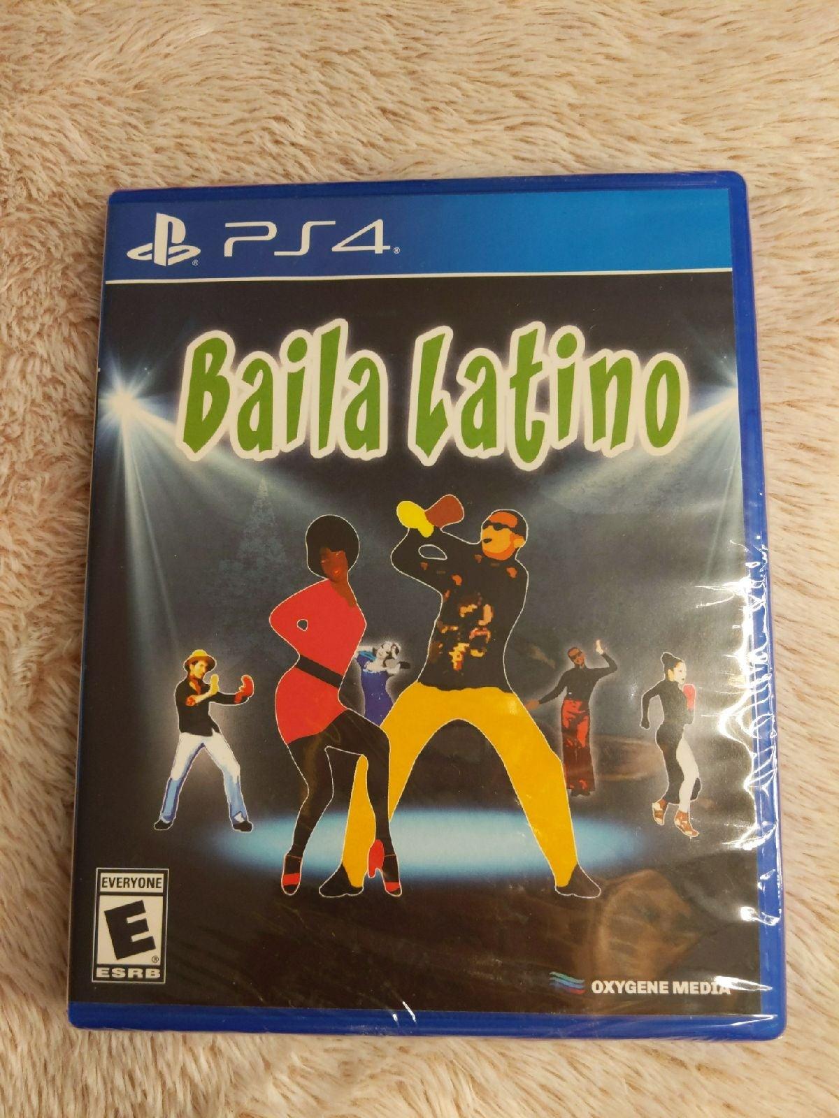 Brand new PS4 Baila Latino game