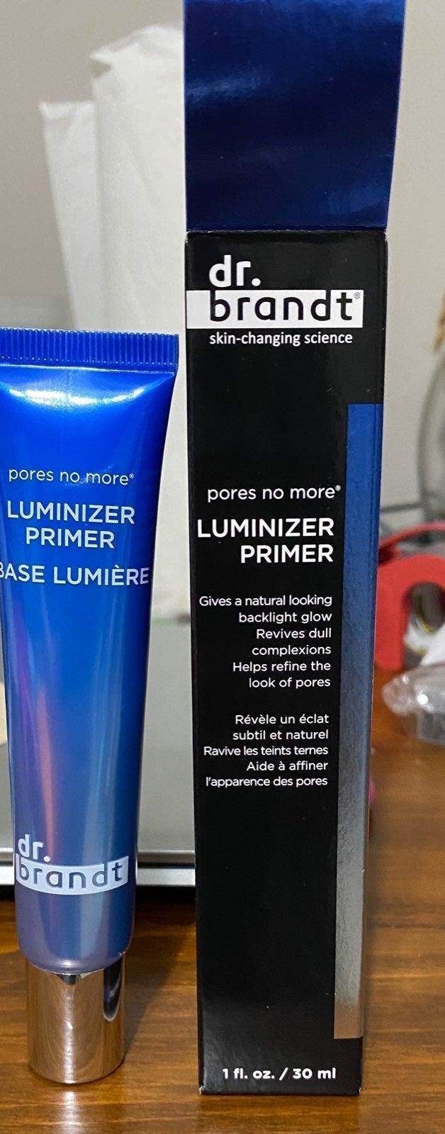 Pores no more luminizer primer