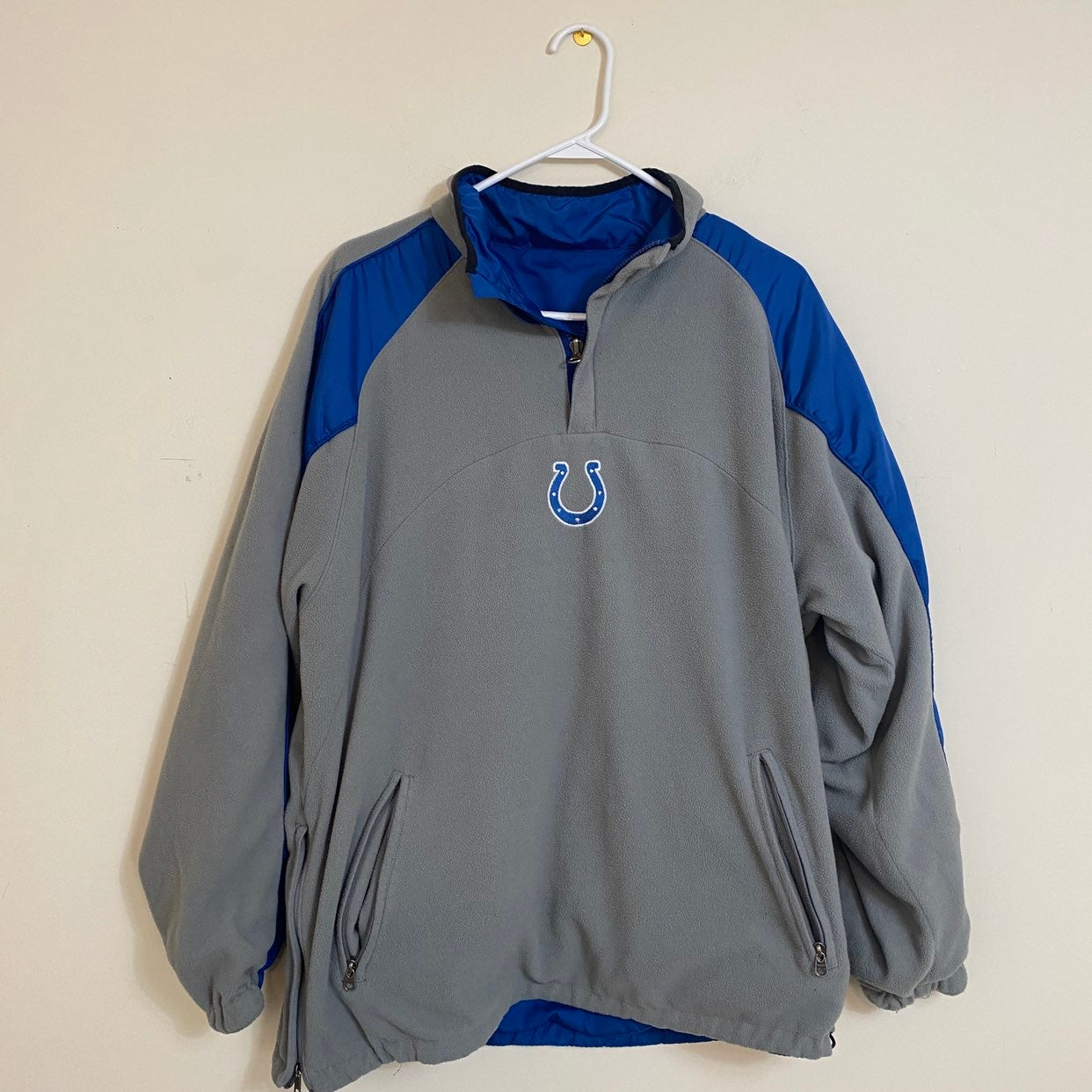 Reversible Colts Pullover