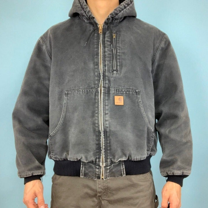 vintage Carhartt heavy work jacket