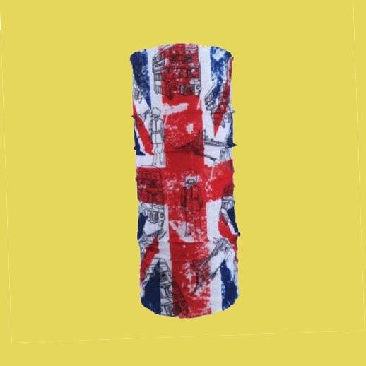 BRITISH FLAG BANDANA - Mask Scarf Rave