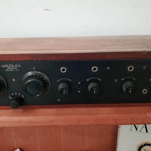 Antique Crosley Radio receiver