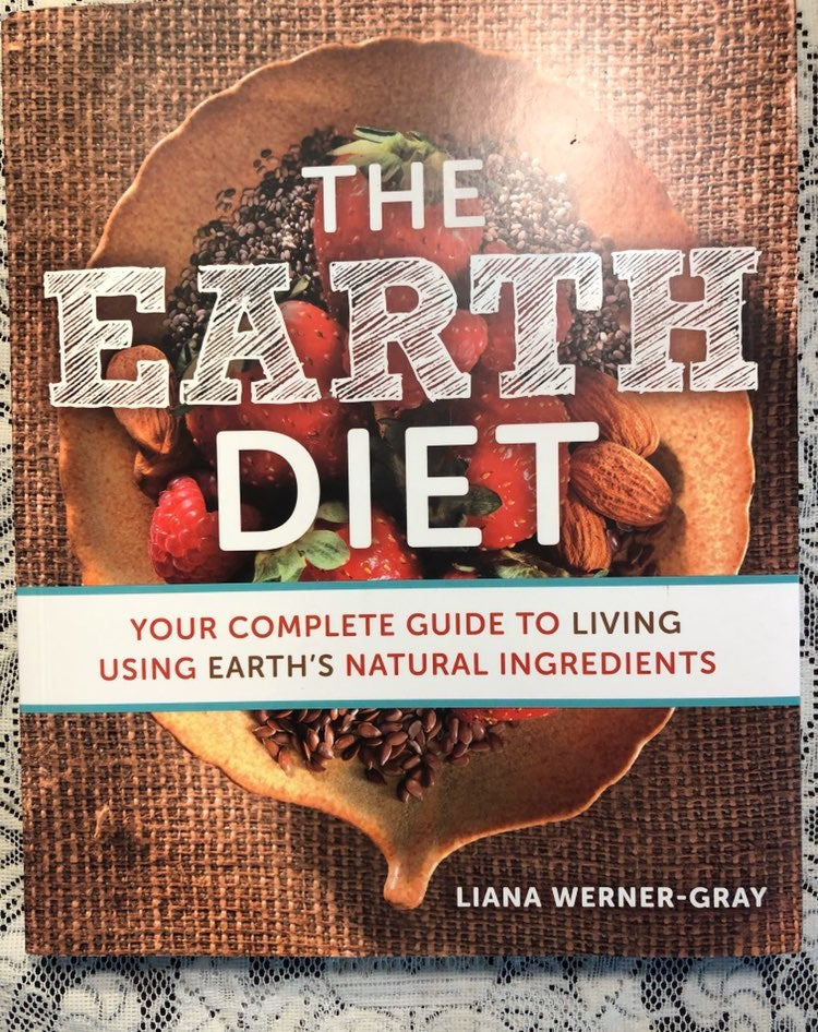 Brand New Autogrphed Earth Diet Book