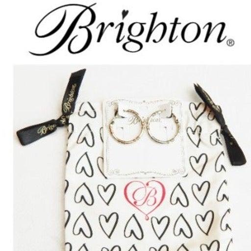BRIGHTON Round Charm Holder Earrings