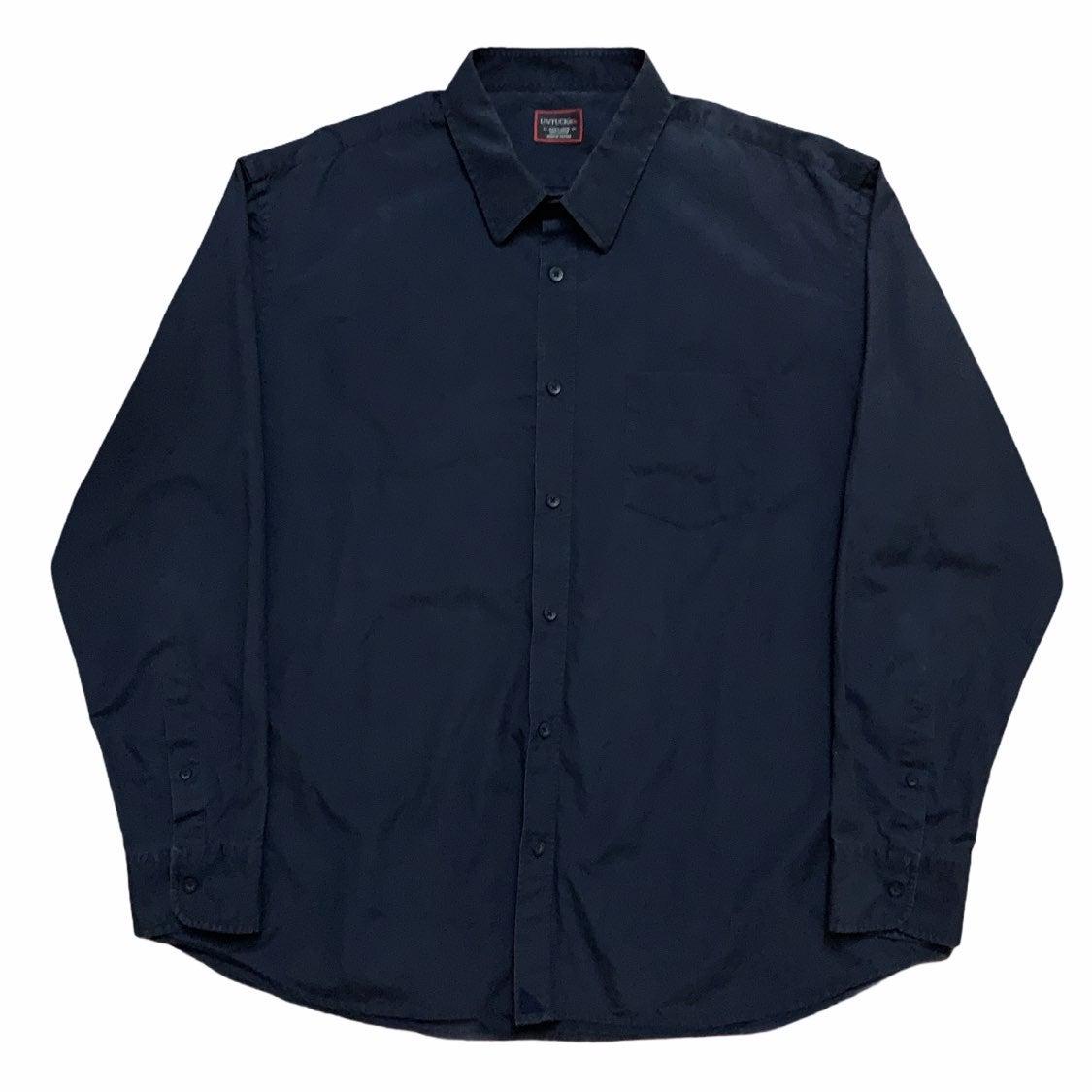 Untuckit Dress Shirt Navy Blue 3XL