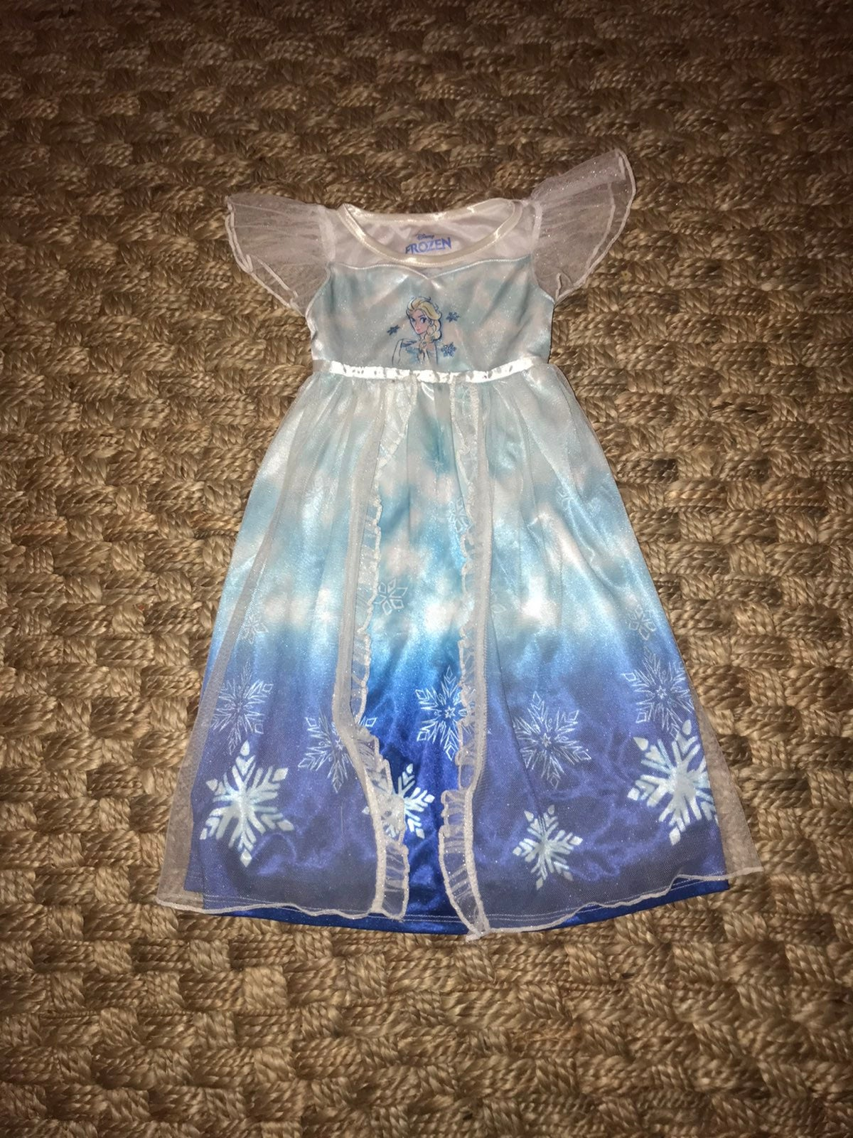 Disney frozen 2T nightgown pj dress