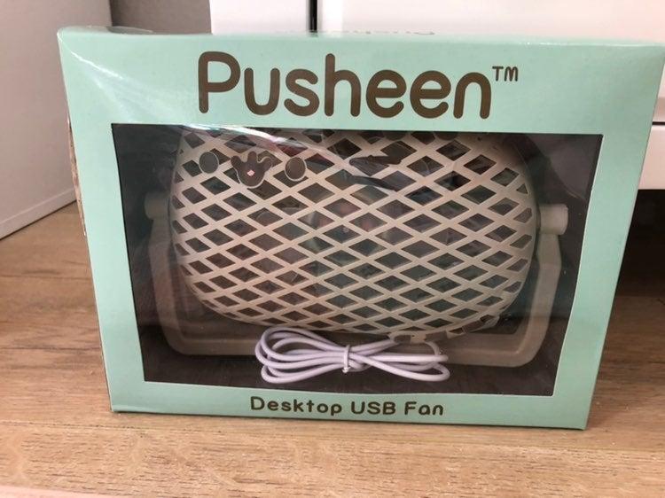 Pusheen Desktop USB fan NIB