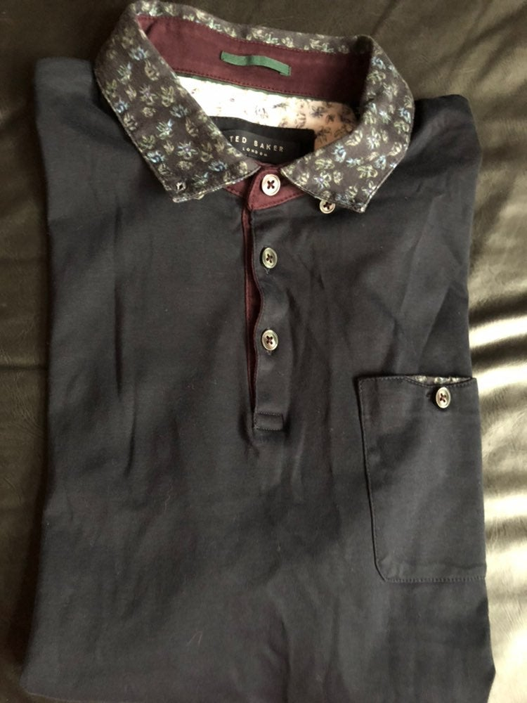 Ted Baker polo shirt size 4
