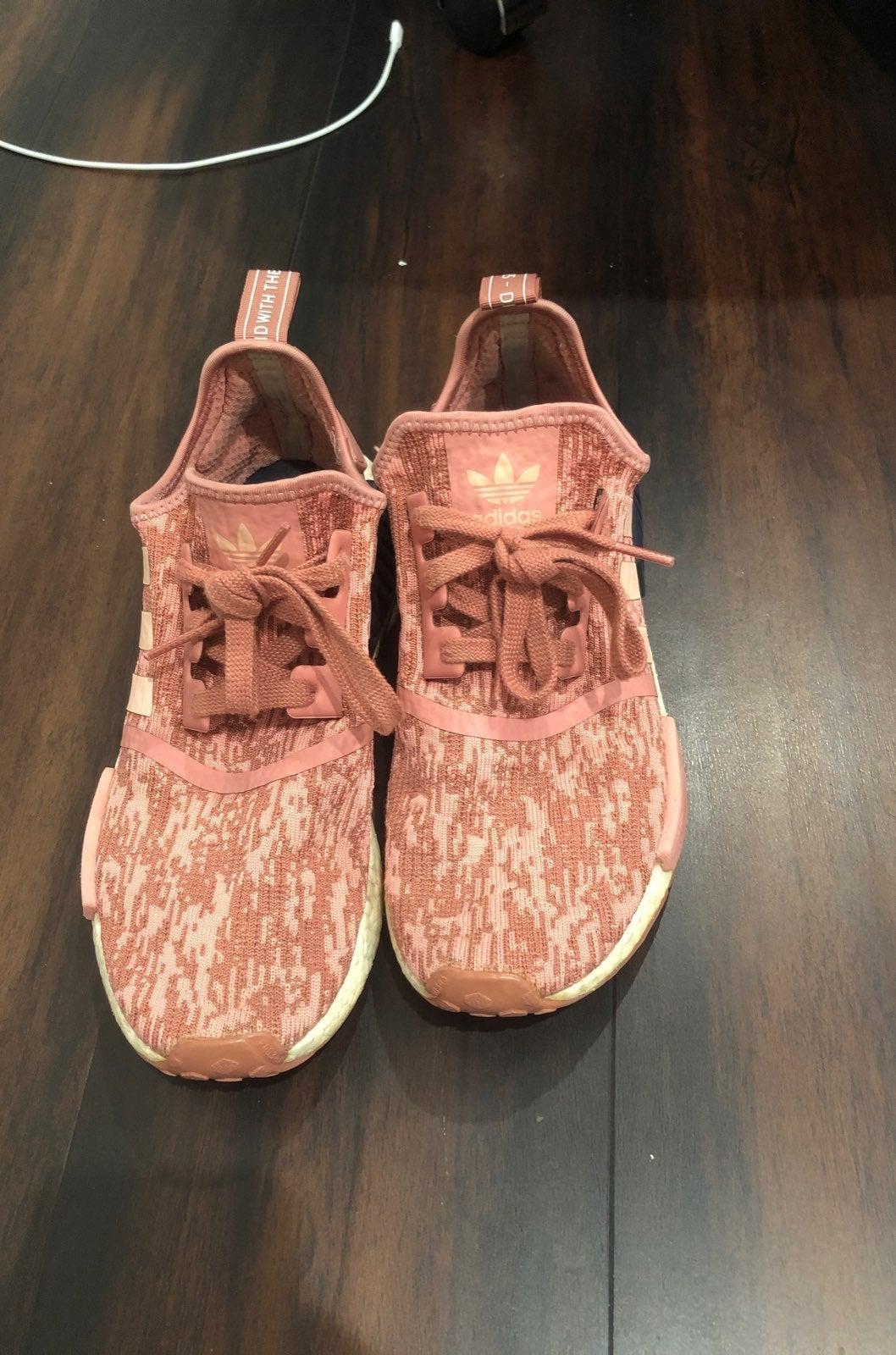 Adidas NMD R1 Raw pink Glitch
