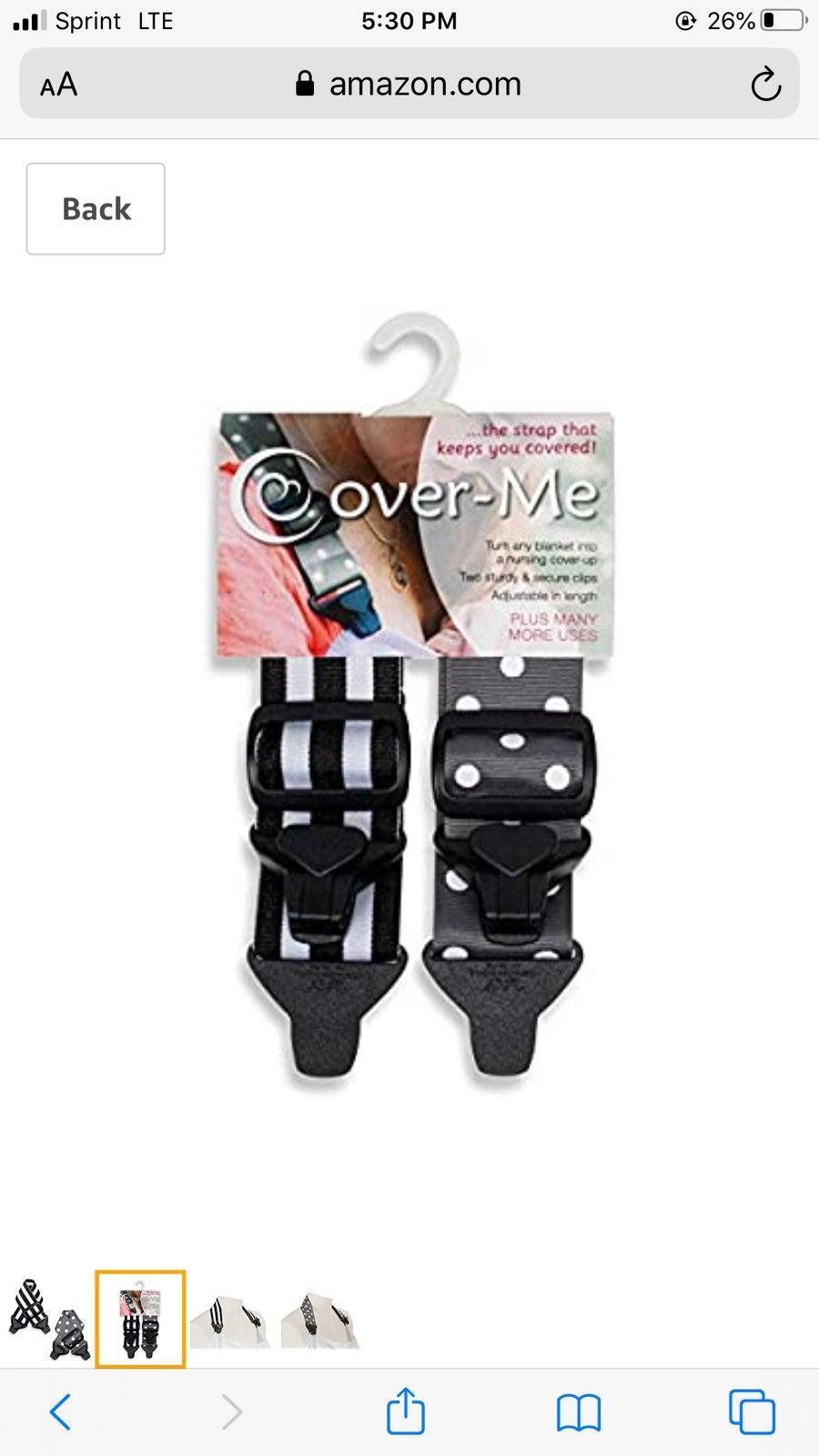Nursing straps