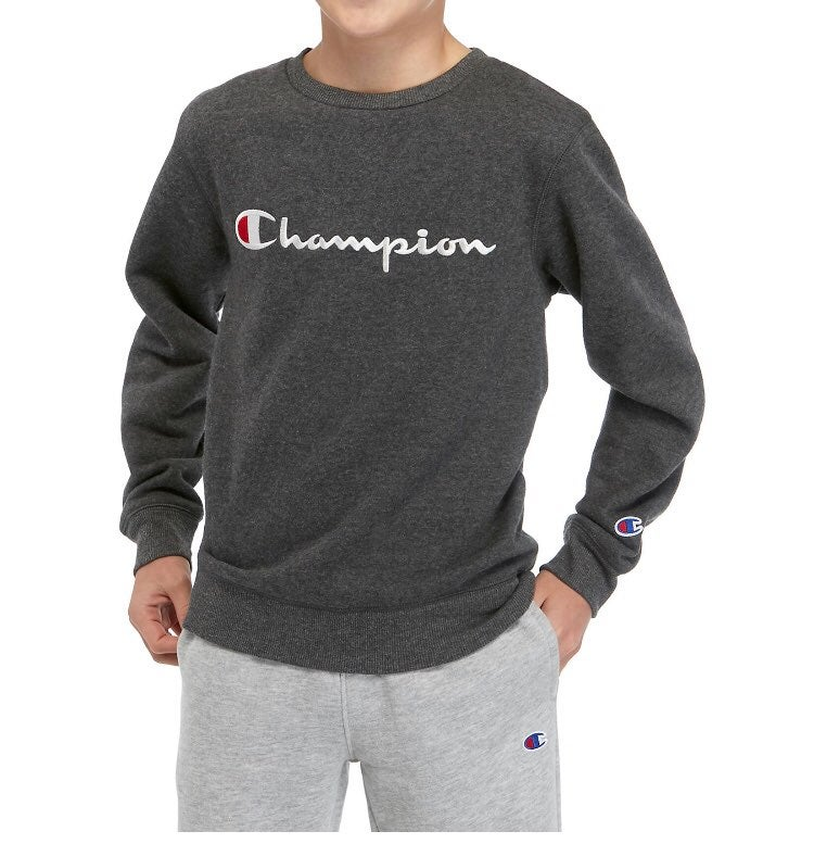 Champion Boys Pullover Sweater Large NEW