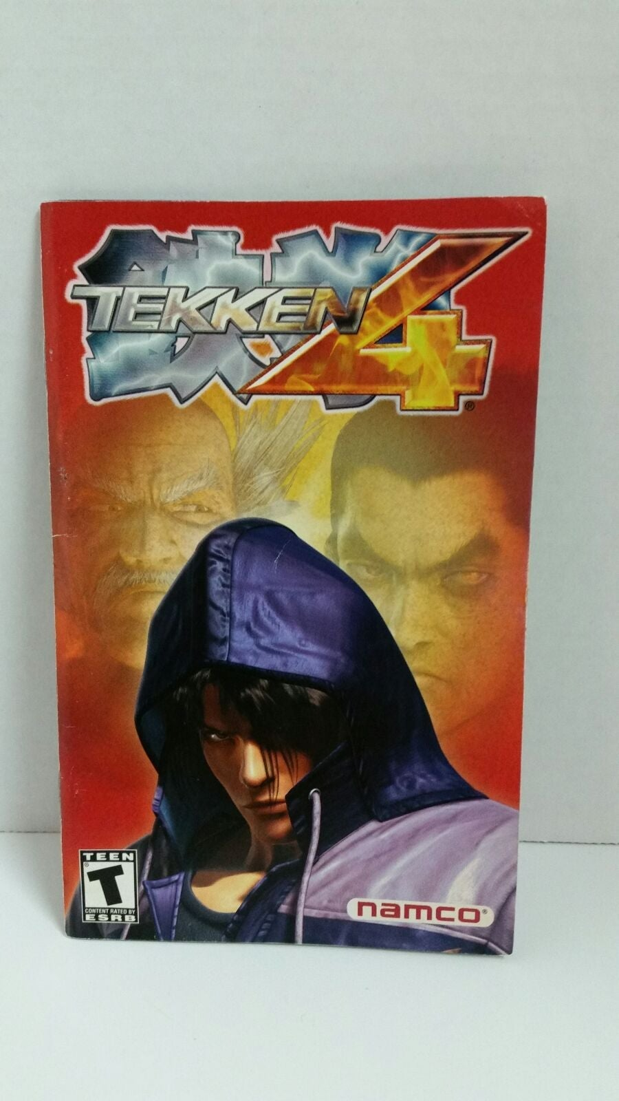 Tekken 4 Instruction Manual