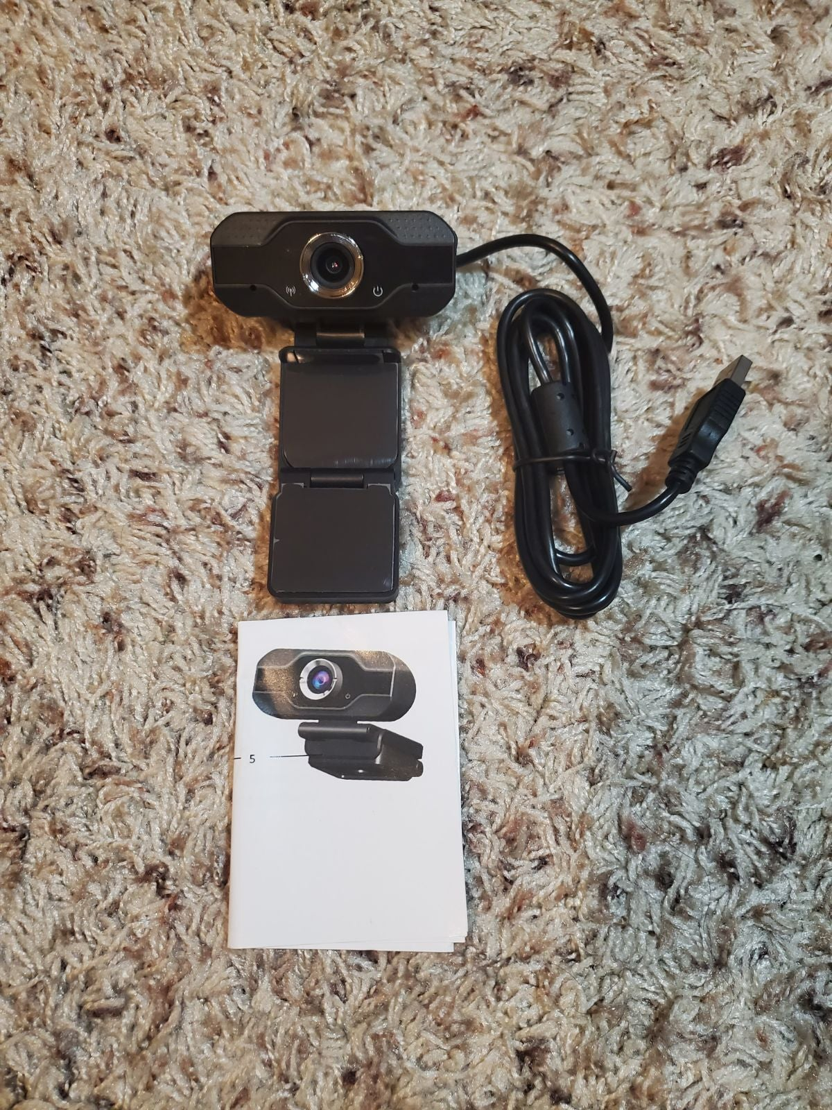 Webcam w/ Microphone Full HD USB
