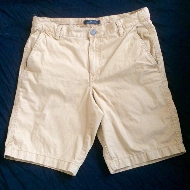 Mark Anthony Khaki Shorts