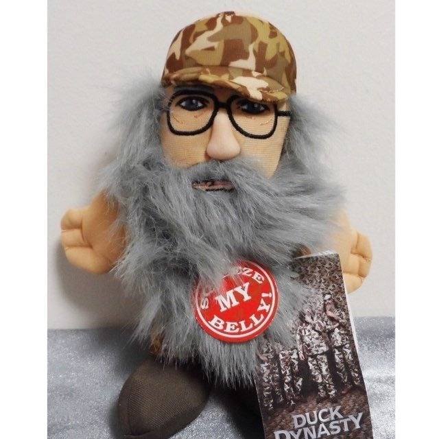 Duck Dynasty Si Camo Plush Toy Talking