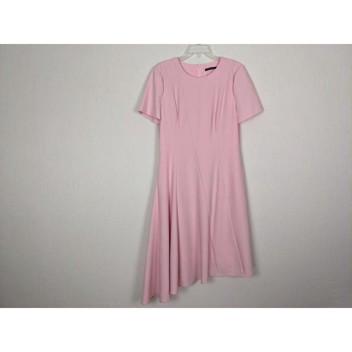Black Halo Olcay pink short sleeve dress
