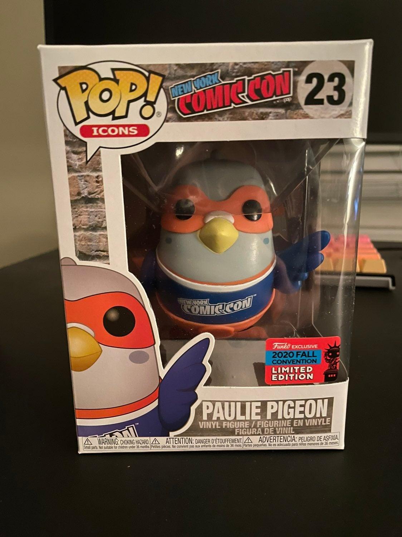Paulie Pigeon NYCC Funko Pop