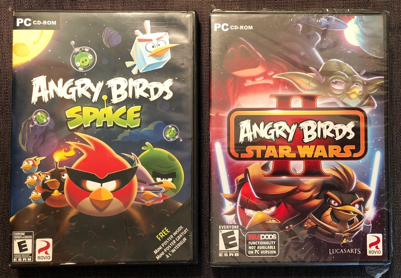 Angry Birds Star Wars/Space PC games