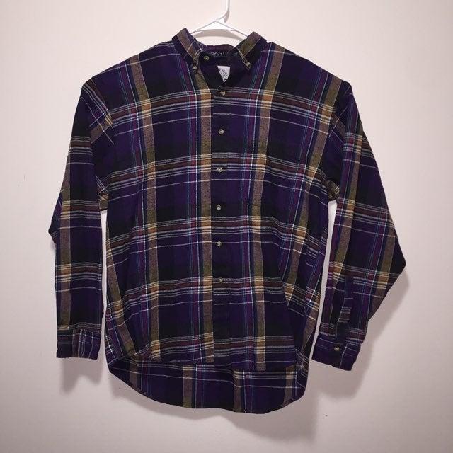 Salty Dog Gant Vintage Purple Button Up
