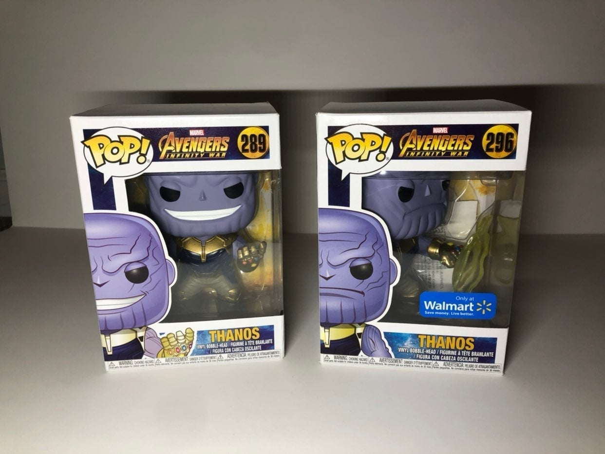 2 New Thanos Funko Pop Figures