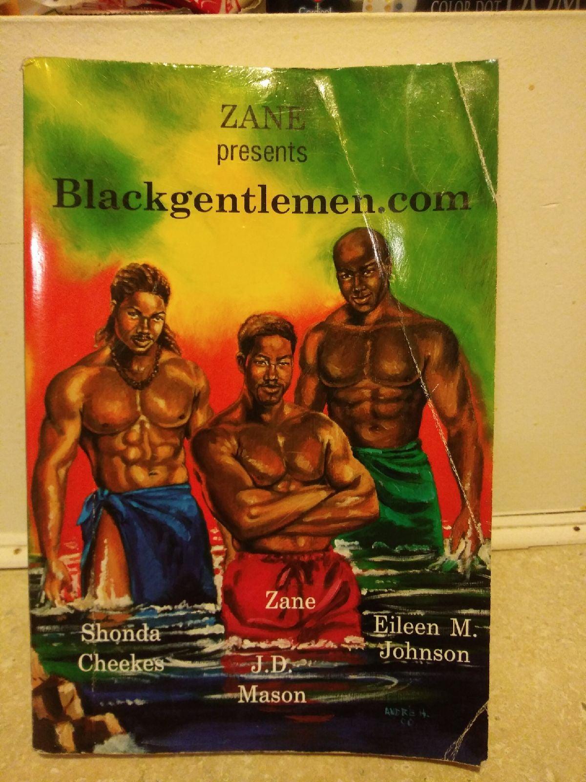 """Book Zane""""Blackgentlemen.com"""