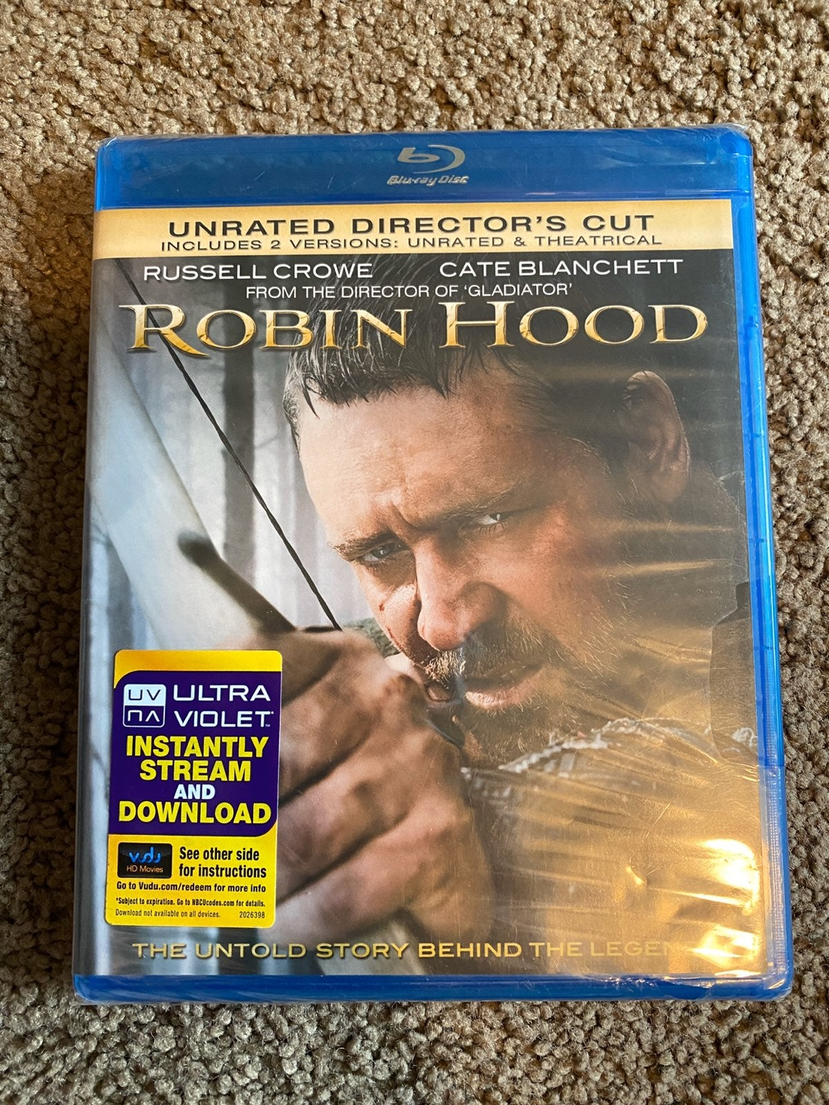 Robin Hood Blu-Ray (Sealed)