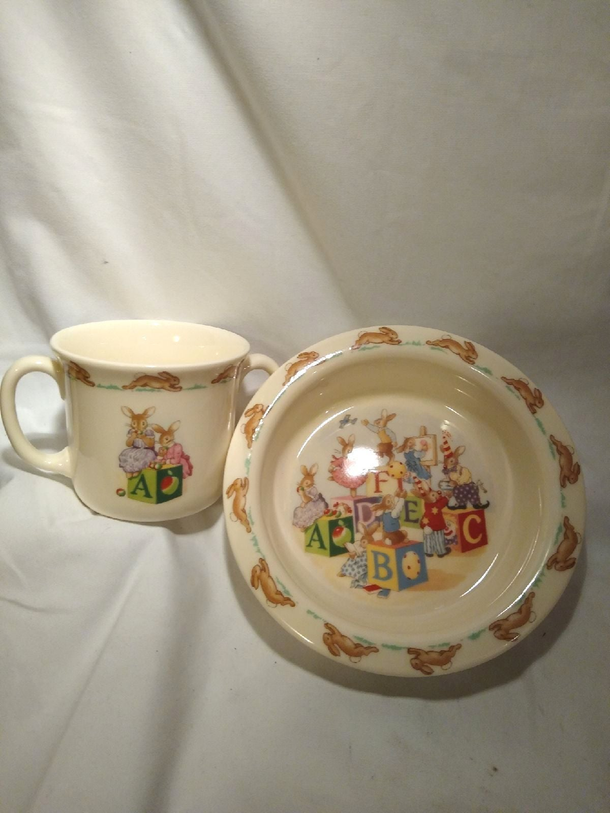 Royal Doulton Bunnykins China Baby Set