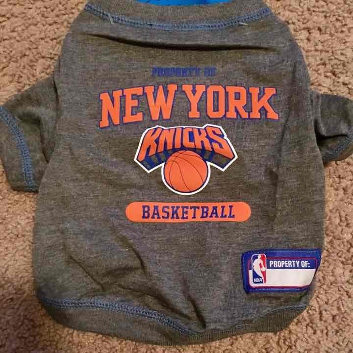 New York Knicks NBA Dog Tee Shirt XS