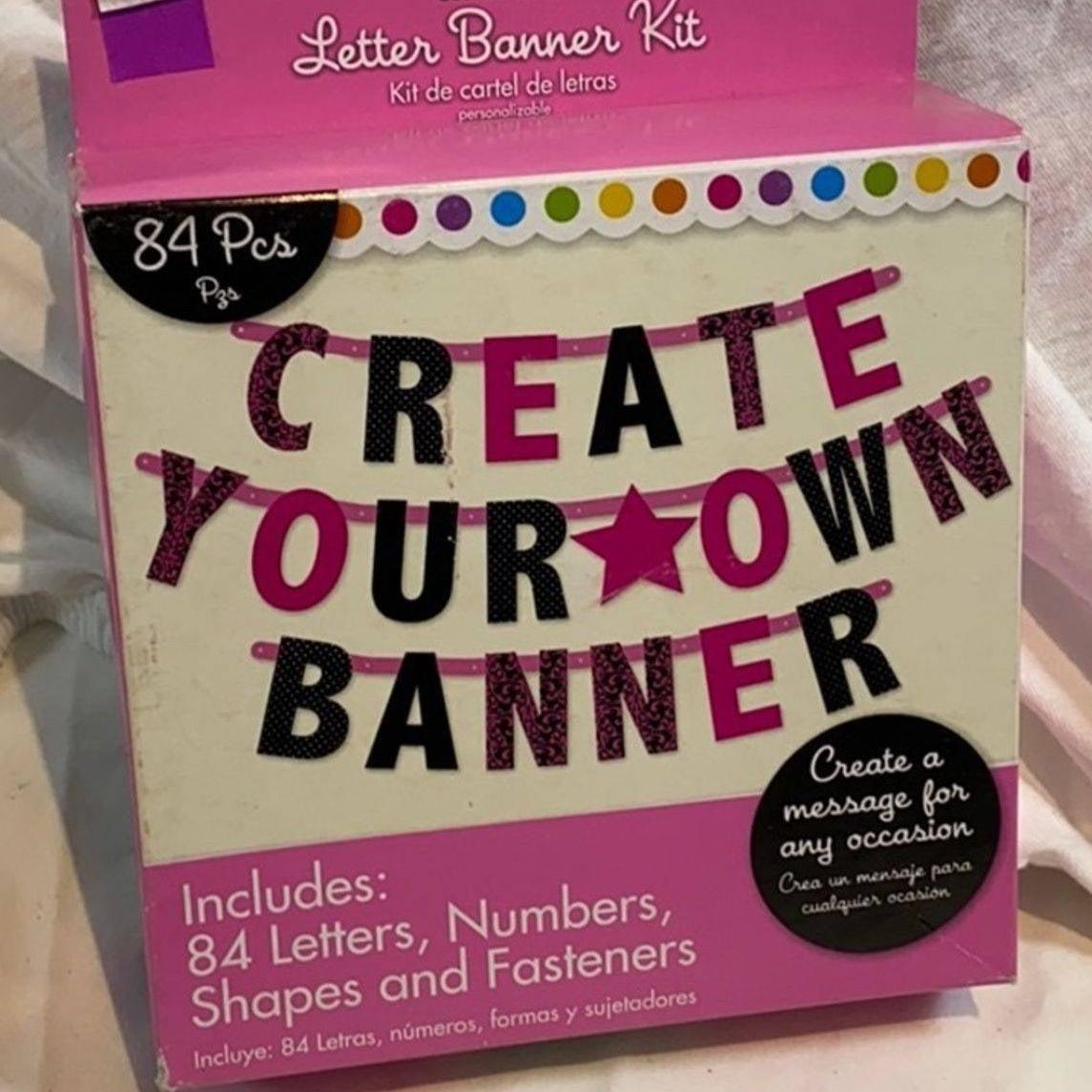 DIY Banner Kit