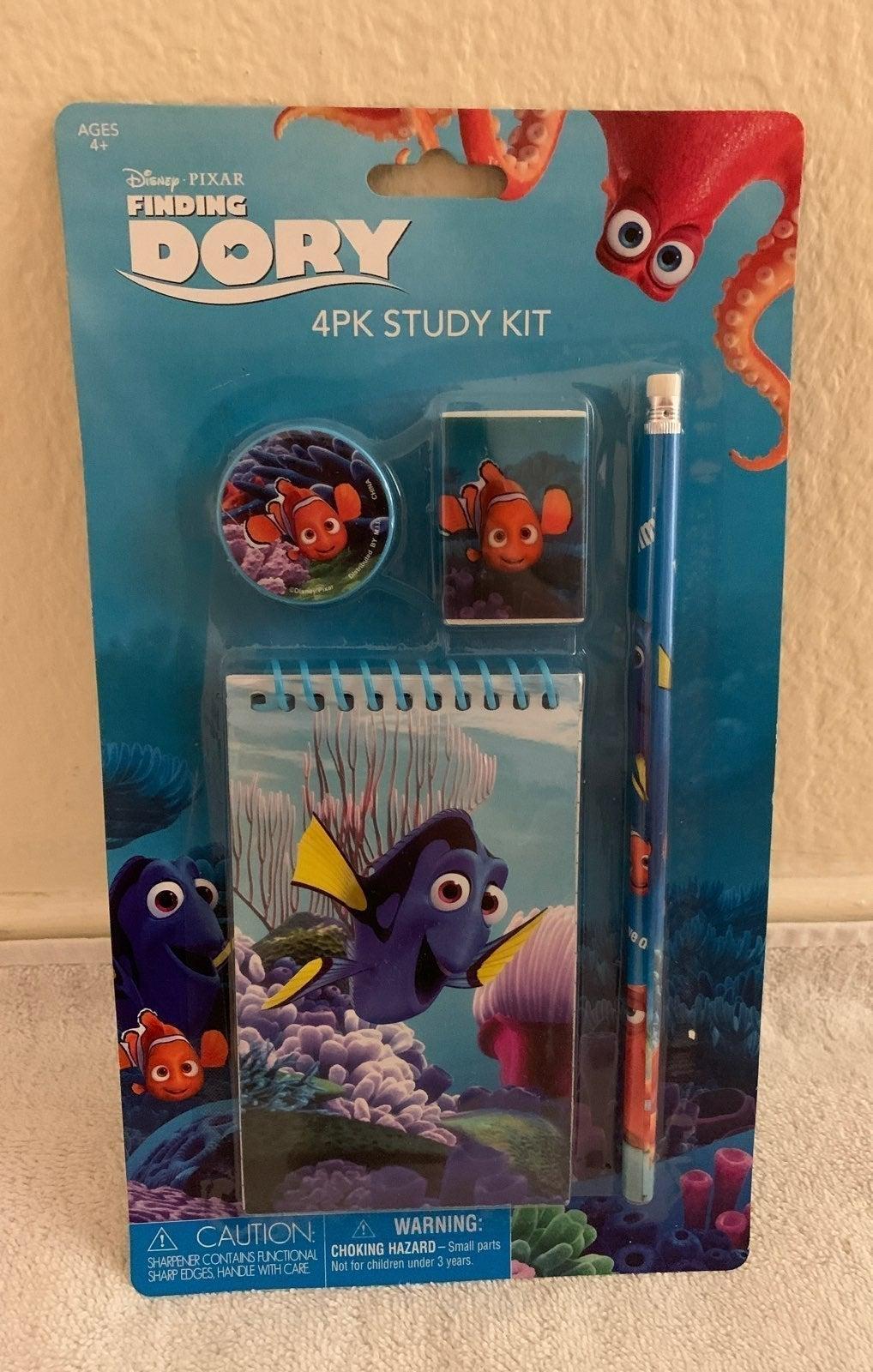 Finding Dory 4Pk Study Kit