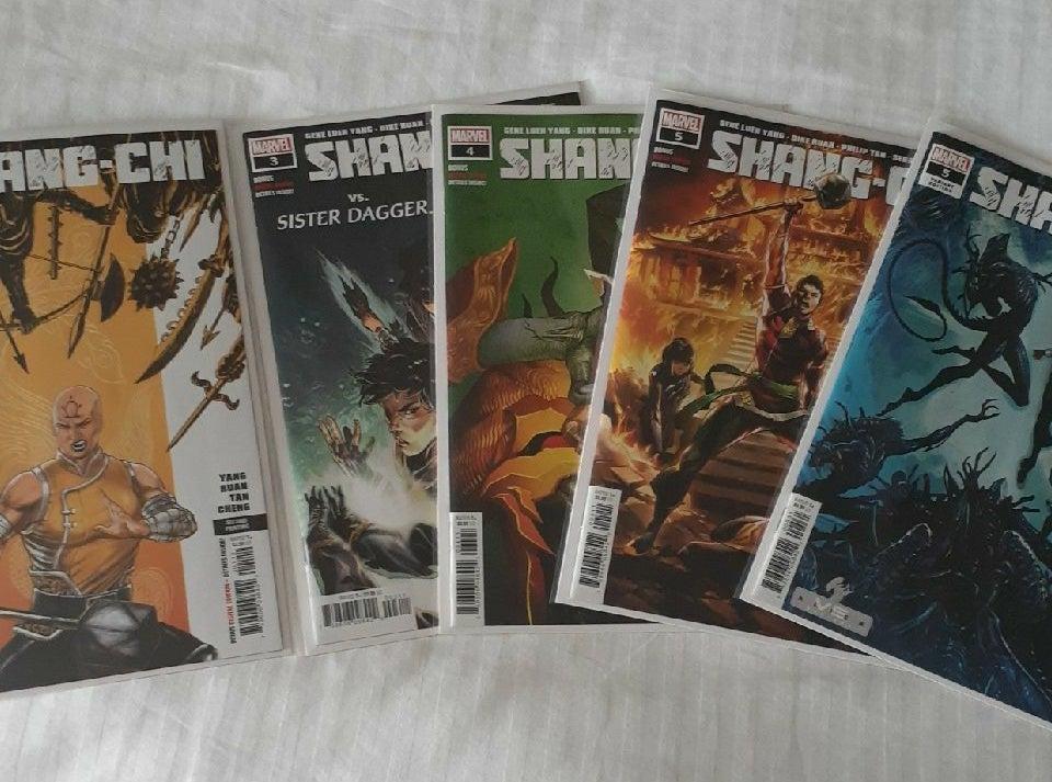 Shang-Shi lot of 5 #1,3,4,5,5