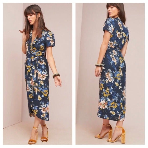 NWT Yumi Kim • Floral Wrap Dress