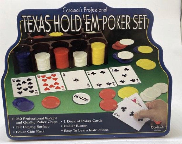 Texas Hold Em Poker Set New Missing felt