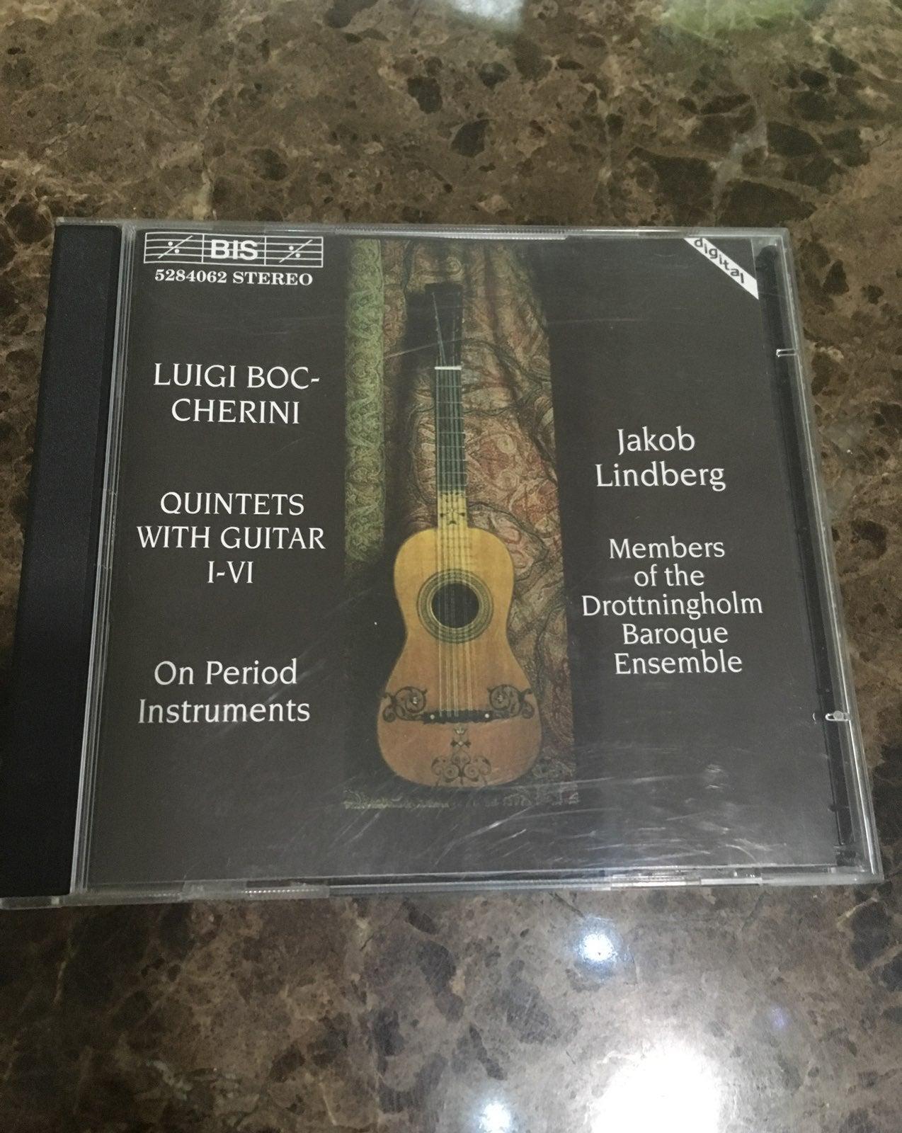 Boccherini: Quintets with Guitar I-VI