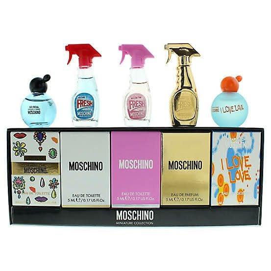 Moschino Mini Perfume Gift Set FRESH!