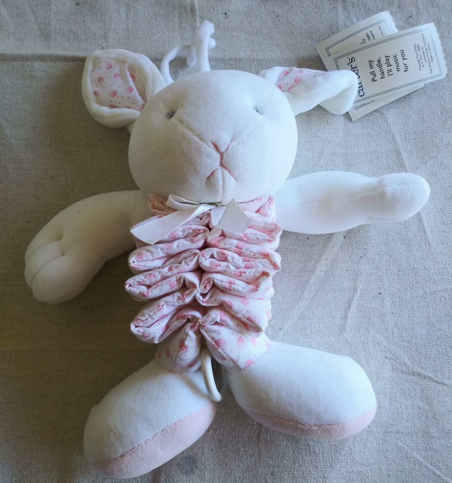 VINTAGE CARTERS JUST ONE YEAR BUNNY MUSI