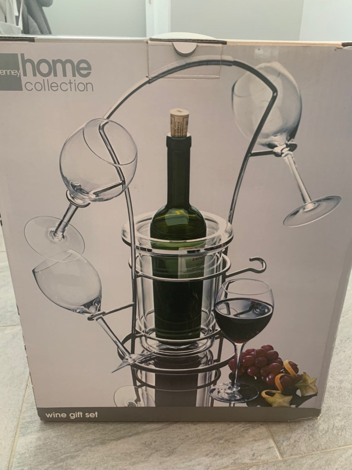 6 Piece Wine Gift Set (no wine included)