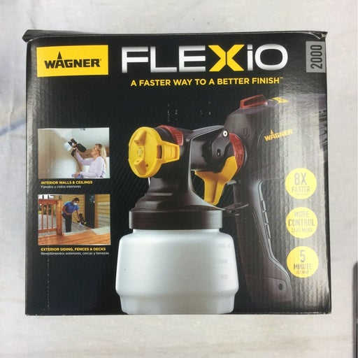Used Wagner Flexio - Paints, Primers