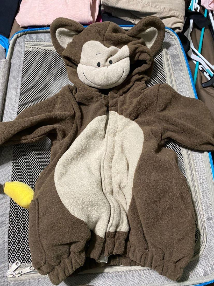Great for holloween or dress up . Monkey