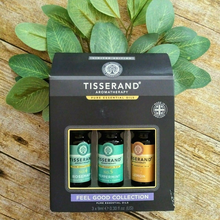 Tisserand 3 Pk Feel Good Essential Oils